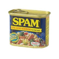 Hormel Spam Less Sodium