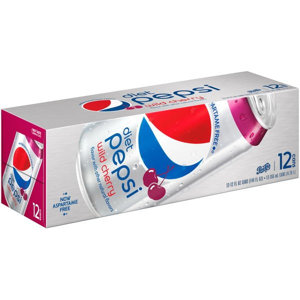 Diet Pepsi Wild Cherry Cola