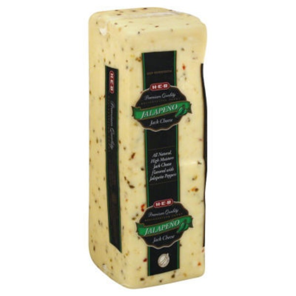 H-E-B Deli Jalapeno Jack Cheese, Sold By The Pound
