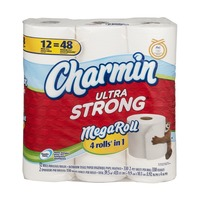 Charmin Ultra Strong Toilet Paper Mega Rolls - 12 CT