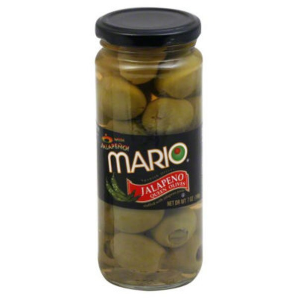 Mario Jalapeno Queen Olives