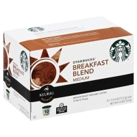 Starbucks Coffee K-Cup Breakfast Blend Medium Roast
