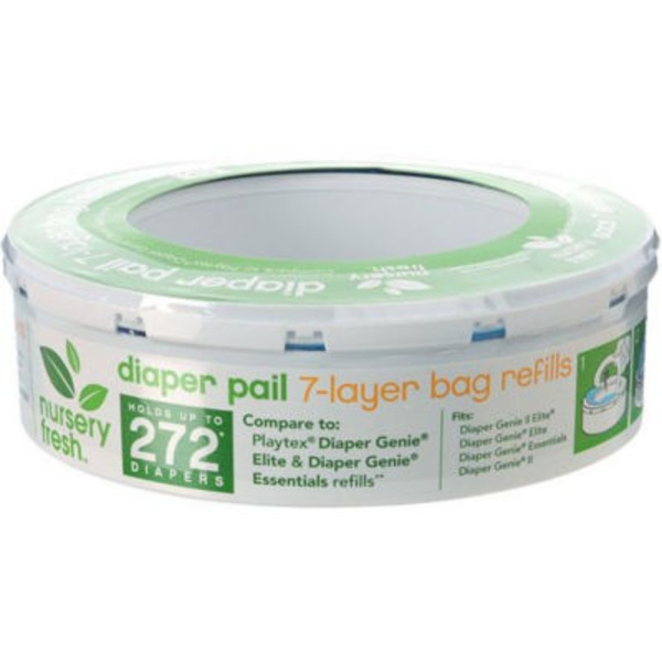 Nursery Fresh Diaper Pail Refills, 7-Layer Bags Refills