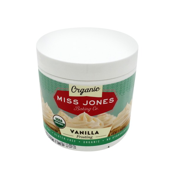 Miss Jones Baking Co Organic Vanilla Frosting
