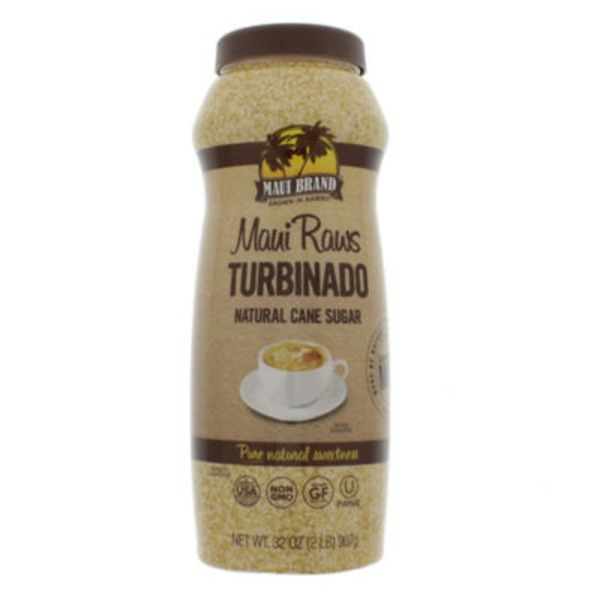 Maui Raws Turbinado Natural Cane Sugar