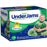 Pampers UnderJams Boys' Bedtime Underwear Super Pack L/XL