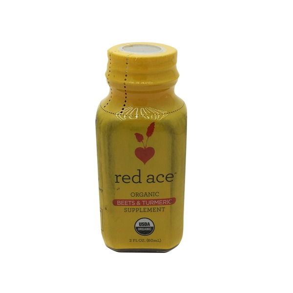 Red Ace Organic Beets And Turmeric Shot