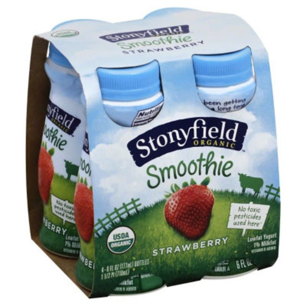 Stonyfield Organic Strawberry Organic Yogurt Drink