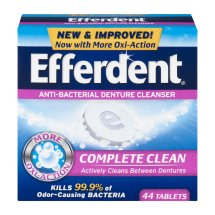 Efferdent Anti-Bacterial Denture Cleanser Complete Clean Tablets - 44 CT