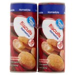 Great Value Homestyle Biscuits, 7.5 oz, 4 pack