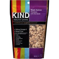 Kind Healthy Grains Maple Quinoa Clusters with Chia Seeds Healthy Grains