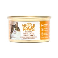 Whole Paws Grain Free Turkey Chicken & Giblets Dinner Cat Food