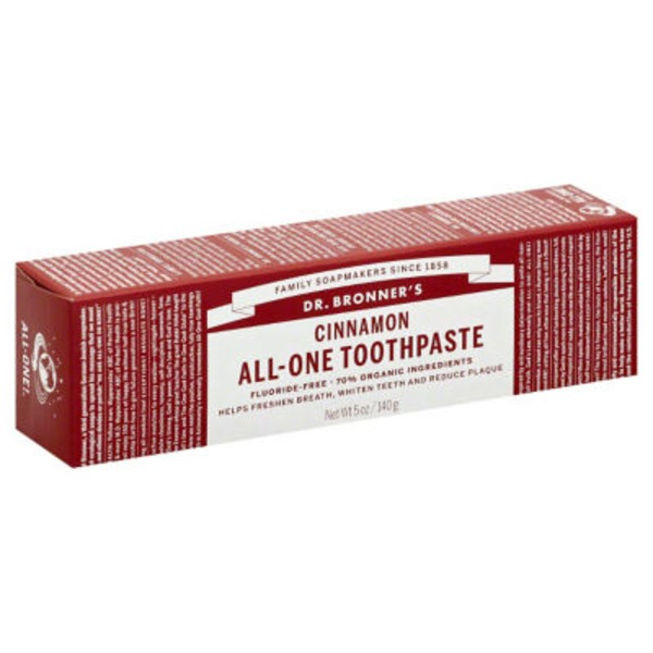 Dr. Bronner's Toothpaste, All-One, Cinnamon