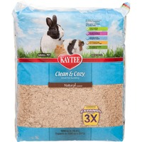 Kaytee Clean & Cozy Natural Small Animal Bedding 1000 Cu. In.