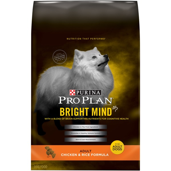Pro Plan Dog Dry Bright Mind Adult Chicken & Rice Formula Dog Food
