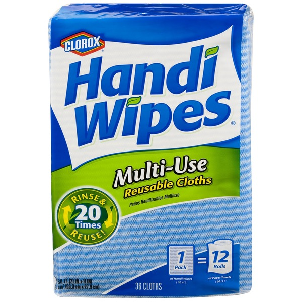 Clorox Handi  Wipes Multi Use Reusable Cloths