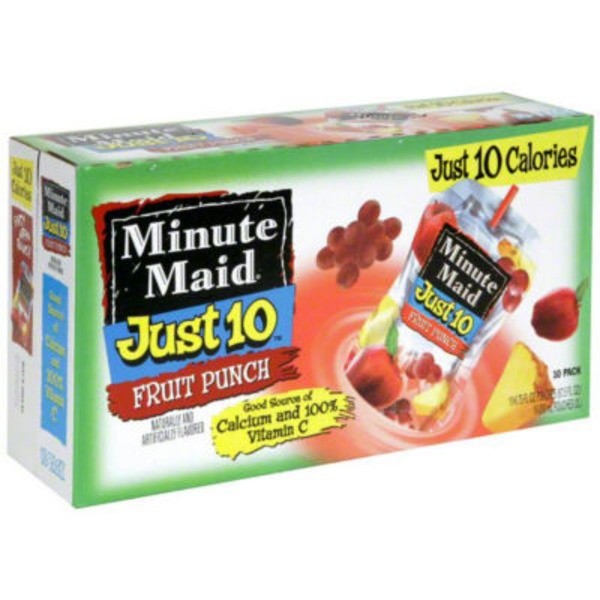 Minute Maid Just 10 Fruit Punch