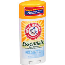 Arm & Hammer Natural Essentials Unscented Deodorant