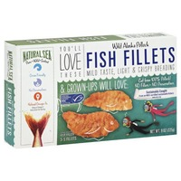 Natural Sea Wild Alaska Pollock Fish Fillets