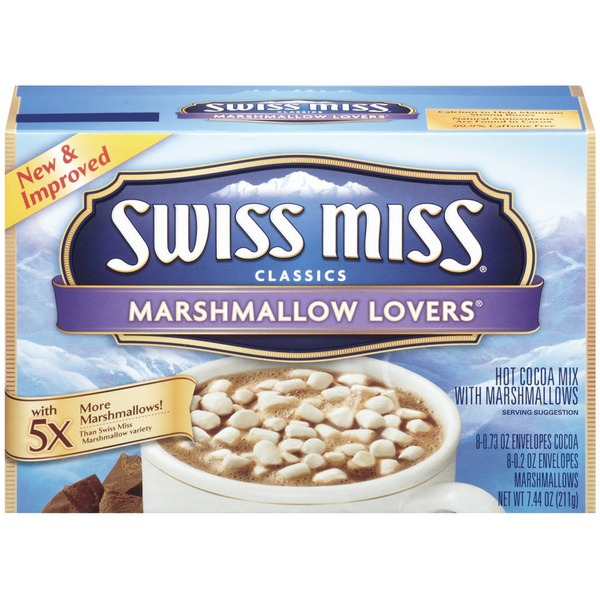Swiss Miss Marshmallow Lovers® 0.73 Oz Envelopes Hot Cocoa Mix