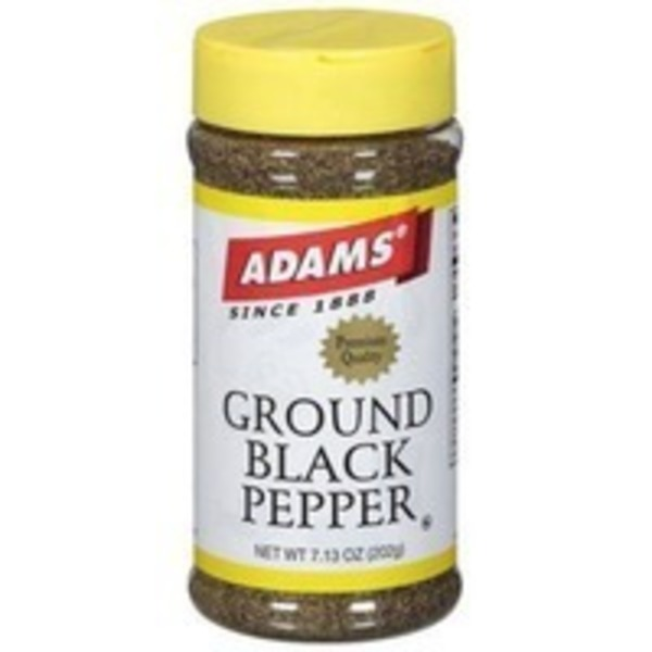 Adams Pepper Perfected Ground Black Pepper