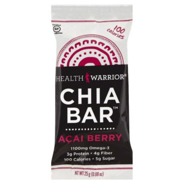 Health Warrior Chia Bar Acai Berry