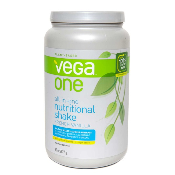 Vega One All-In-One Nutritional Shake French Vanilla Flavor Drink Mix