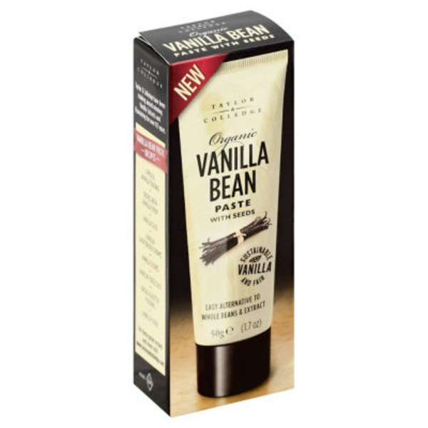 Taylor & Colledge Organic Vanilla Bean with Seeds Paste