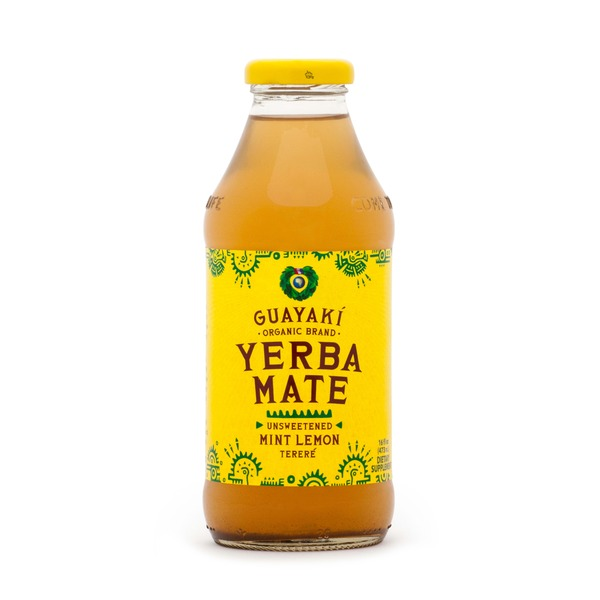 Guayaki Unsweetened Mint Lemon Mate