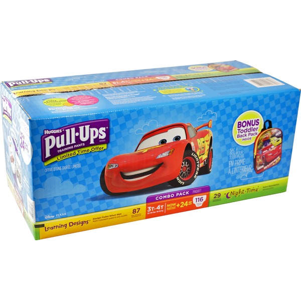 Huggies 2t/3t and 3t/4t Boy's Pull Ups