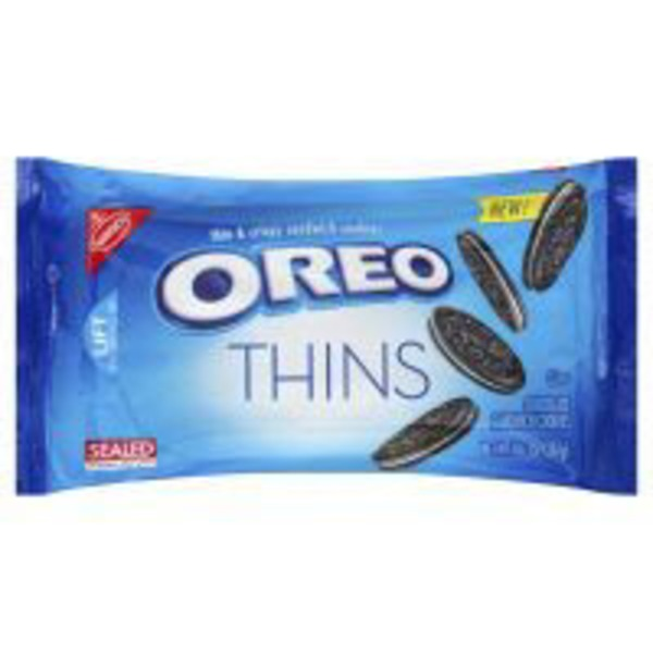 Nabisco Oreo Thins Chocolate Sandwich Cookies