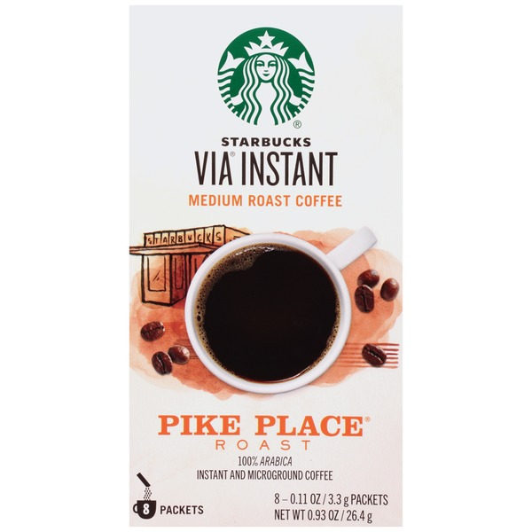 Starbucks VIA Instant Pike Place Roast Instant Coffee