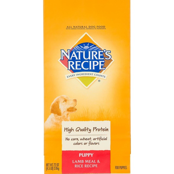 Nature's Recipe Puppy Lamb Meal & Rice Recipe Dog Food