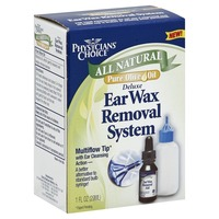 Physicians Choice Ear Wax Removal System, Deluxe