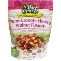 Salad Pizazz! PomeCranate Honey Walnut Fusion Salad Toppings, 4 oz