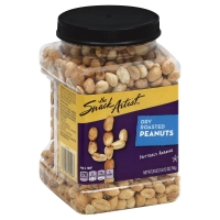 The Snack Artist Nuts Peanuts Dry Roasted
