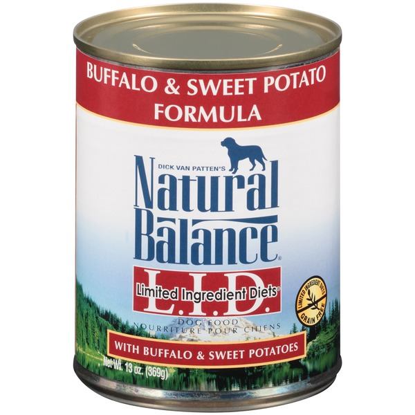 Natural Balance Limited Ingredient Diets Buffalo & Sweet Potato Formula Dog Food