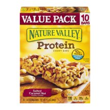 Nature Valley Chewy Granola Bar, Protein, Salted Caramel Nut, 10 Bars - 1.4 oz, 1.42 OZ