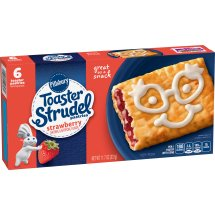 Pillsbury Toaster Strudel Strawberry Toaster Pastries, 6 Ct, 11.7 oz, 11.7 OZ