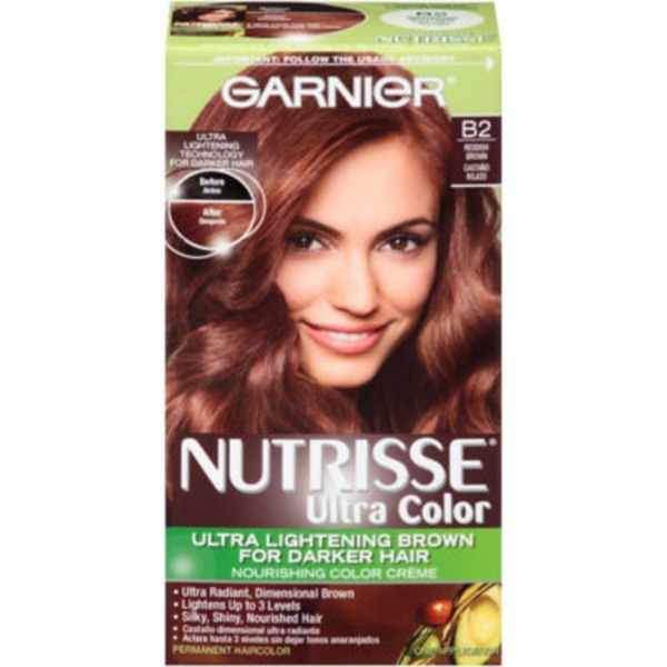 Nutrisse® Ultra Color Nourishing Color Creme B2 Reddish Brown Haircolor