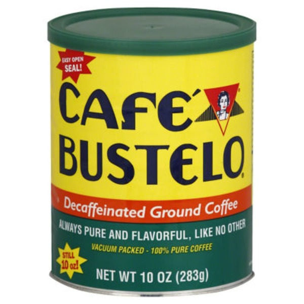 Cafe Bustelo Decaffeinated Ground Coffee