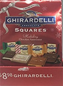 Ghirardelli Chocolate Limited Edition Holiday Chocolate Squares