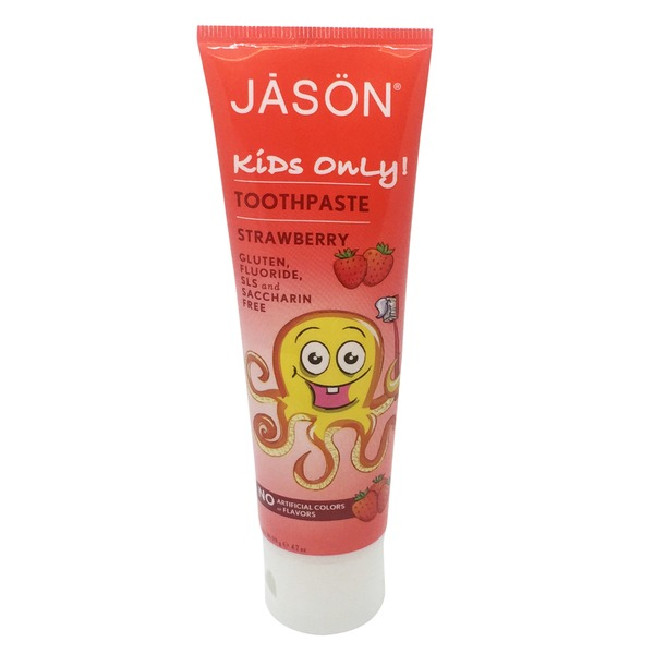 Jason Kids Only! Toothpaste Strawberry