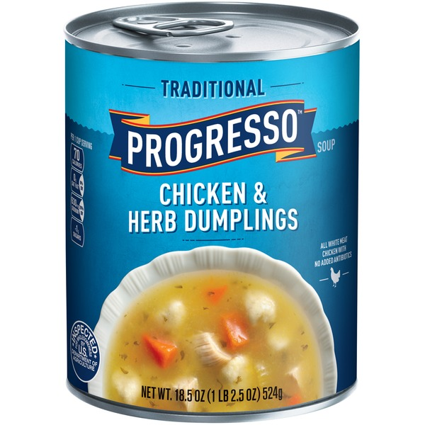 Progresso Traditional Chicken & Herb Dumplings Soup