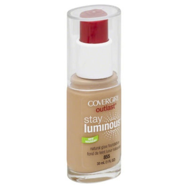 CoverGirl Outlast COVERGIRL Outlast Stay Luminous Foundation, Soft Honey 1 fl oz (30 ml) Female Cosmetics