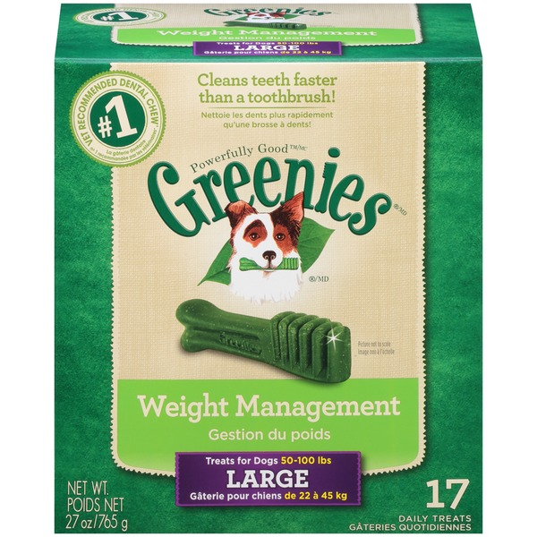 Greenies Large Weight Management Dog Treats