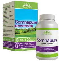 Peak Life Somnapure Natural Sleep Aid Sleep Tablets, 30 count