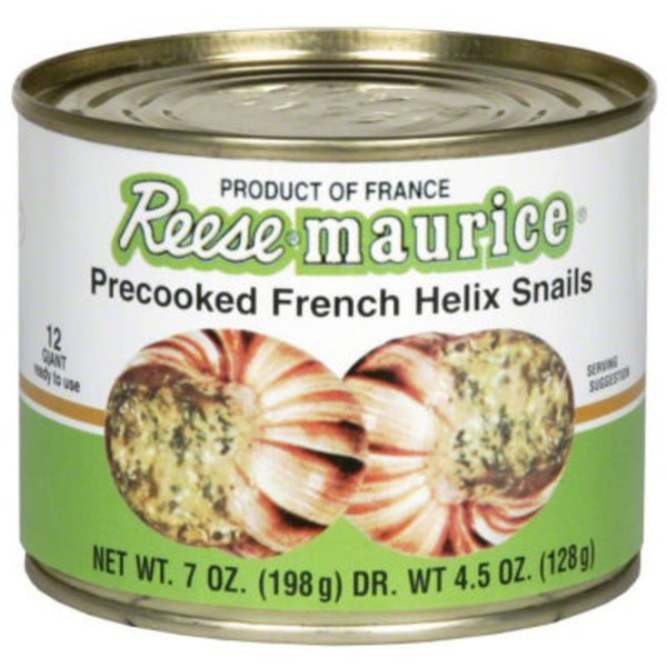 Maitre Jacques Precooked Helix Snails Escargot