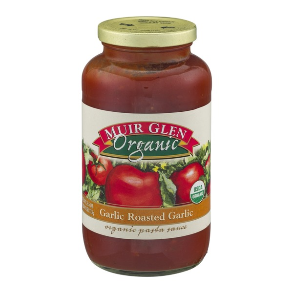 Muir Glen Organic Pasta Sauce Garlic Roasted Garlic