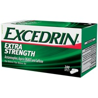 Excedrin Extra Strength Acetaminophen Aspirin (NSAID) and Caffeine Caplets Pain Reliever/Pain Reliever Aid